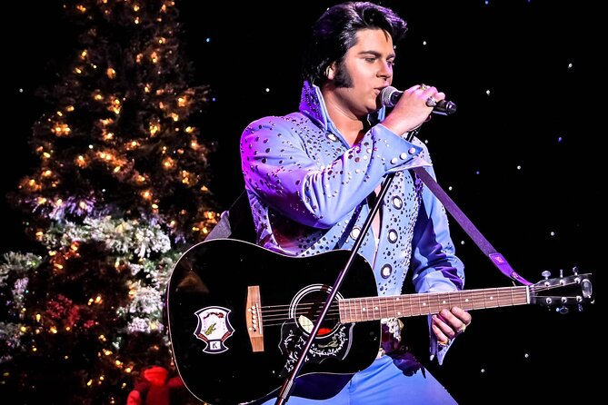 Admission to Christmas with Elvis Starring Alex Mitchell