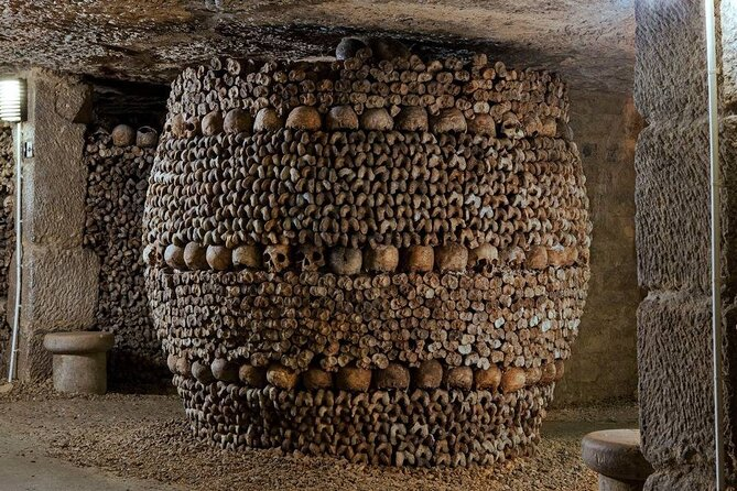 Self-guided tour in Paris with Skip the Line access to The Catacombs of Paris