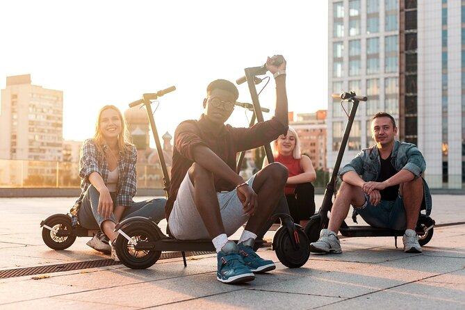 San Francisco outdoor escape game on eScooter or bikes
