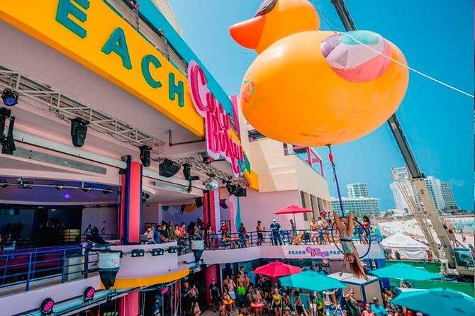 Coco Bongo Beach Club Cancun