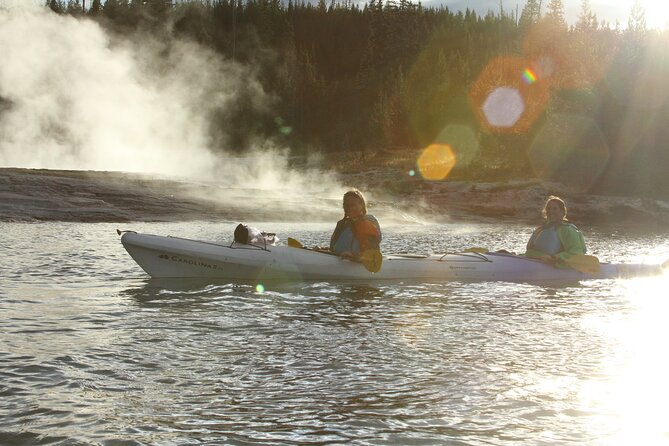 Yellowstone Lake Twilight Guided Kayak Tour