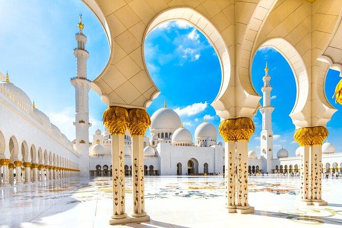Abu Dhabi Mosque and Ferrari World tour from Dubai