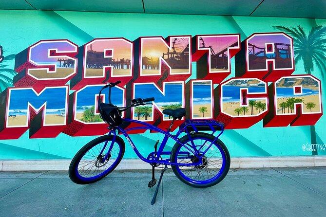 Santa Monica & Venice Guided Pedego eBike Tour