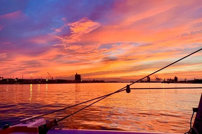 Sunset Catamaran Sail In Port Canaveral and Cocoa Beach