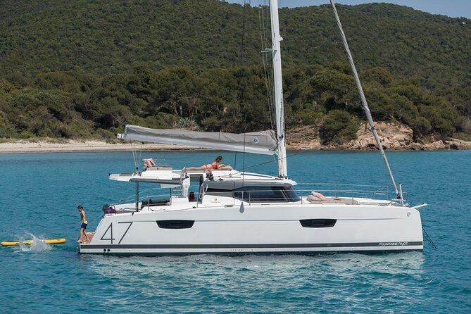 Semi-Private Cruise on Brand New Luxury Catamaran in Mykonos
