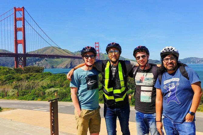 Private Guided Golden Gate Bridge to Sausalito Bike Tour
