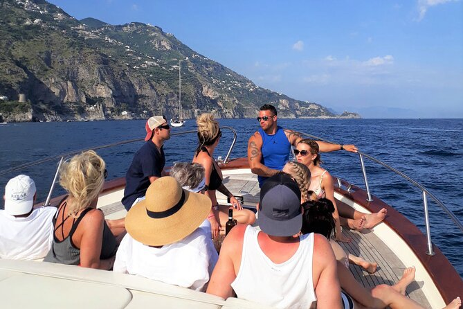 full-day Amalfi Coast from Rome with boat tour & lunch included