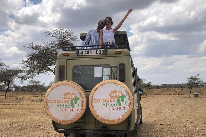 5 Day Tarangire,Serengeti,Ngorongoro & Manyara Camping Safari Tour Tanzania.