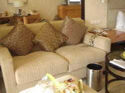 房间的沙发