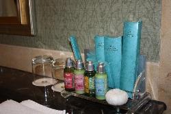 酒店的卫浴用品