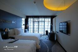 艾美酒店-客房双人床