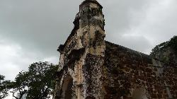 马六甲最古老的城墙一部分,曾经是抵御海上侵略的坚固堡垒