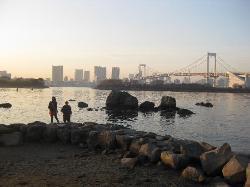 Odaiba Kaihin Koen (Odaiba Seaside Park)