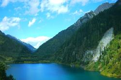 Upper Seasonal Sea in Jiuzhaigou Valley
