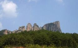 Xianhua Mountain of Pujiang