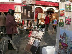 The French Way - Fine Wines and Famous Paintors in Montmartre