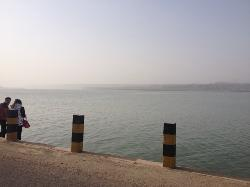 Sanmenxia Dam Scenic Area on Yellow River