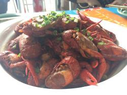 霸王虾小龙虾庭院餐厅