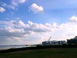 海滩边的酒店