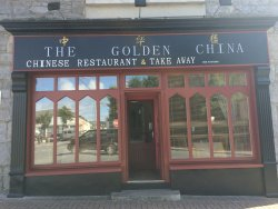 The Golden China restaurant