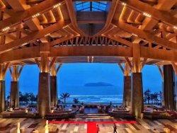 超级赞的海景房和大堂