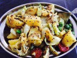 一连去了两天,是我来印度二十天最好吃的一家,尤其是炒的混合蔬菜!蔬菜炒蛋也不错!