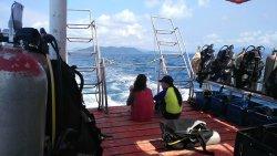 在象岛完成人生第一潜