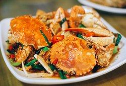 必尝的香辣蟹