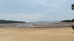 暑假的普陀山人还是非常多的,从码头开始就要排队了。普陀山的水还是挺清的,特别是北面,和印象中的东海的浑浊差别还是很大的,天气很好,但是紫外线也很厉害,周末去2天,晒黑了一圈。风景还是很好的, 就是人太多,天气太热。