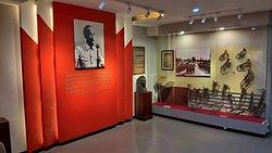 军事博物馆展厅。