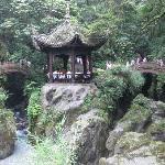 山、水、小亭——峨眉山的双桥清音