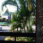 阳台外的景色