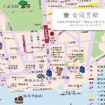 金冠宾馆地图