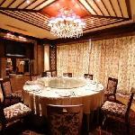 宁波大酒店包厢