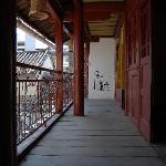 木楼二楼走廊