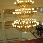 大厅里的灯