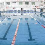 日盛温泉大酒店内的室内游泳馆,一年四季恒温,是您锻炼身体的最佳去处