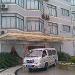 宾馆的楼门