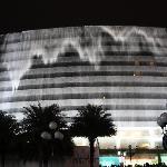 桂林 漓江大瀑布饭店(晚上7点半开始的瀑布表演)
