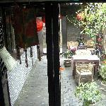 楼下的院子