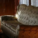 二楼休闲区沙发