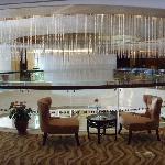 酒店的休闲厅