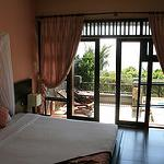 view of our room