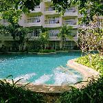 酒店内泳池,不止一个