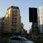 酒店周边街道