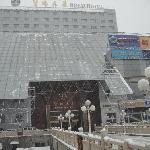 雪后碧海外景