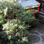 瓦蓝的院子,很漂亮吧!
