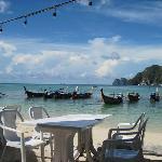 海边的早餐厅