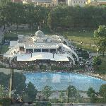 Tirana 市中心景色