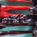 精致的黒木雕